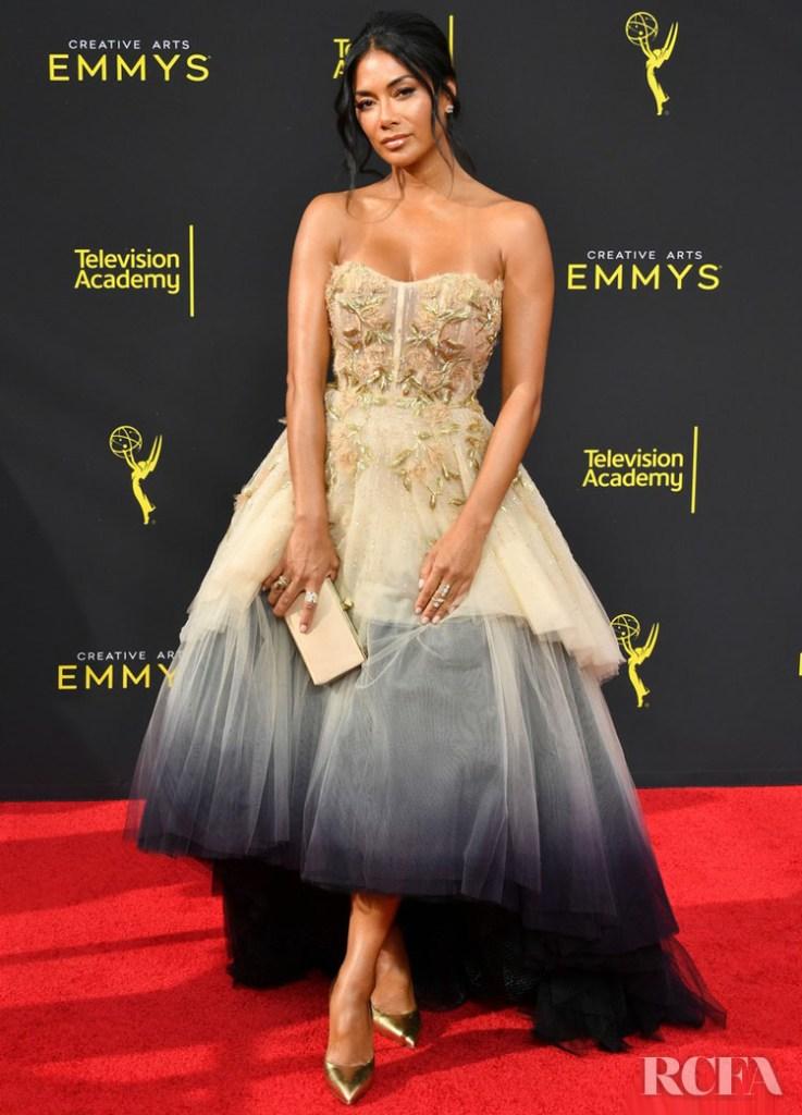 Nicole Scherzinger In Pamella Roland - 2019 Creative Arts Emmy Awards
