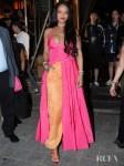 Rihanna's Kick Starts The Hot Pink & Orange Highlighter Trend In Seoul
