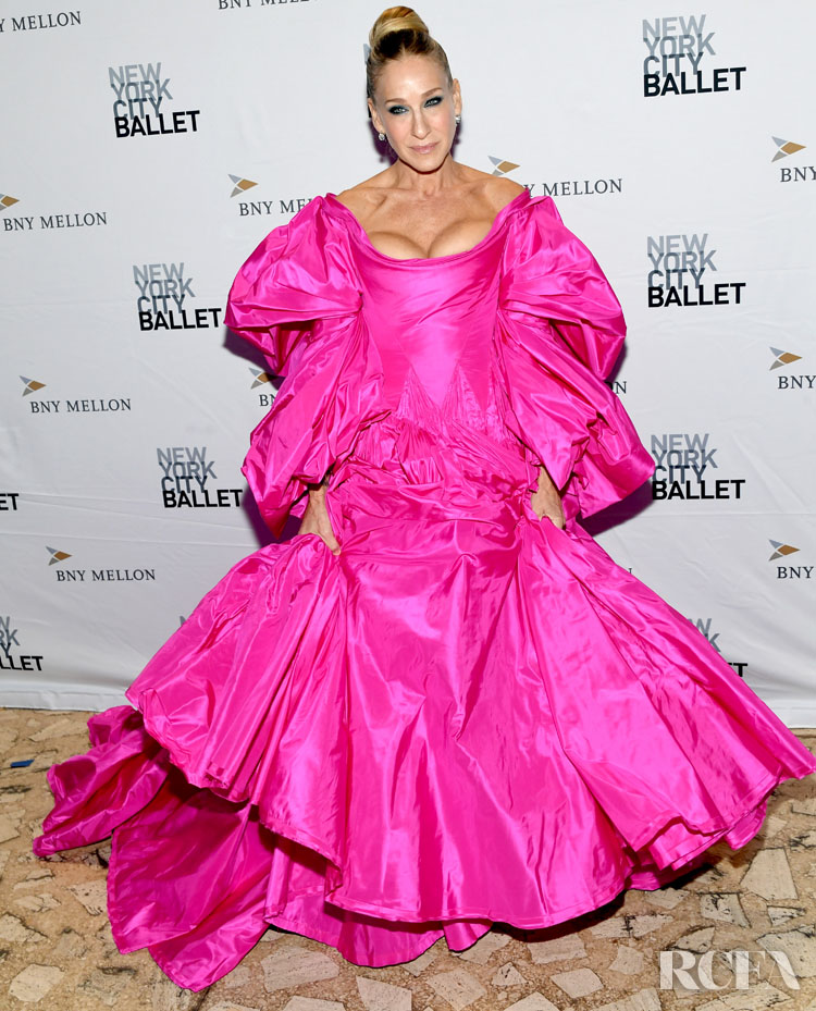 Sarah Jessica Parker Was The Belle Of The New York City Ballet Fall Fashion Gala