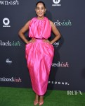 Tracee Ellis Ross Was Tickled Pink At The POPSUGAR x ABC 'Embrace Your Ish' Event