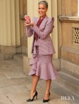 Cush Jumbo Wears Michael Kors Collection To Collect Her OBE