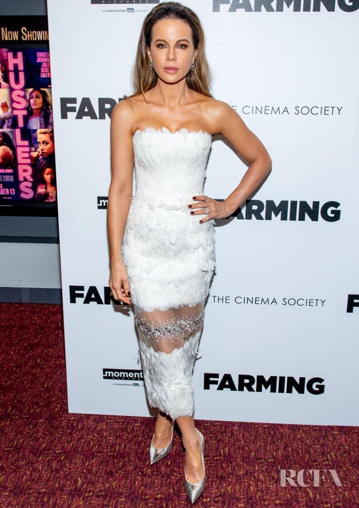 Kate Beckinsale's 'Farming' New York Premiere Was A Very Glamorous Affair
