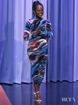 Lupita Nyong'o Makes A Colourful Return In Roberto Cavalli For The Tonight Show Starring Jimmy Fallon