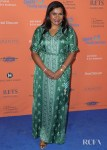 Mindy Kaling Rocks A Chic Green Anita Dongre Kaftan To The Norma Jean Benefit Gala