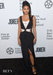 Zazie Beetz Wore Dion Lee To The 'Joker' New York Film Festival Premiere