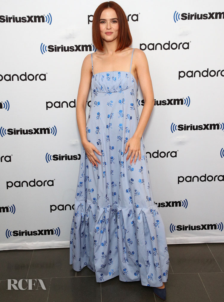 Zoey Deutch Promotes 'The Politician' On SiriusXM