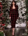 Dakota Johnson Wore A Checkered Alessandra Rich Look On The Ellen Show