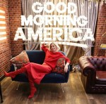 Elizabeth Banks Was A Lady In Red Laura Basci For Good Morning America