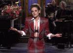Kristen Stewart Opens SNL In Vivienne Westwood