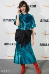 Paz Vega Dazzles In Jorge Vázquez Sequins For The  Amazon Pop-Up Inauguration