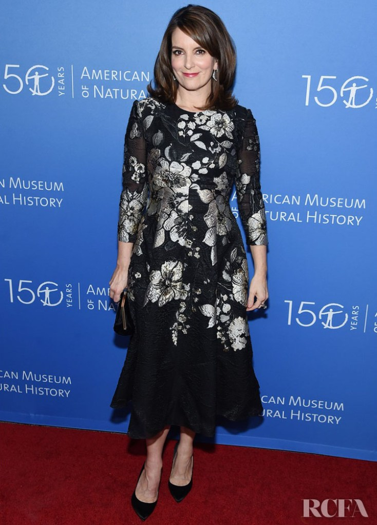 Tina Fey Wore Lela Rose To The American Museum Of Natural History 2019 Gala