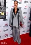 Tracee Ellis Ross' Oversized Suit For The 'Queen & Slim' LA Premiere