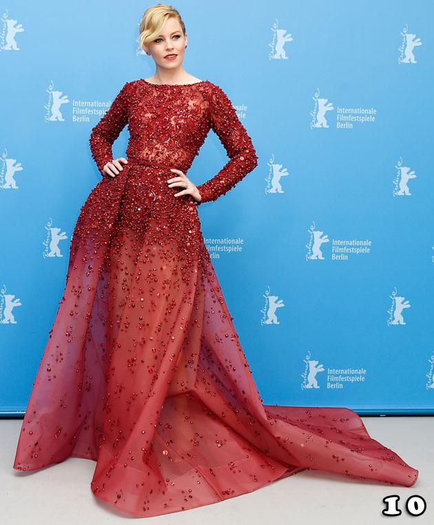 Elizabeth Banks In Elie Saab Couture – 'Love & Mercy' Berlin Film Festival Premiere