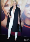 Charlize Theron Wore Dior Haute Couture To The 'Bombshell' New York Screening