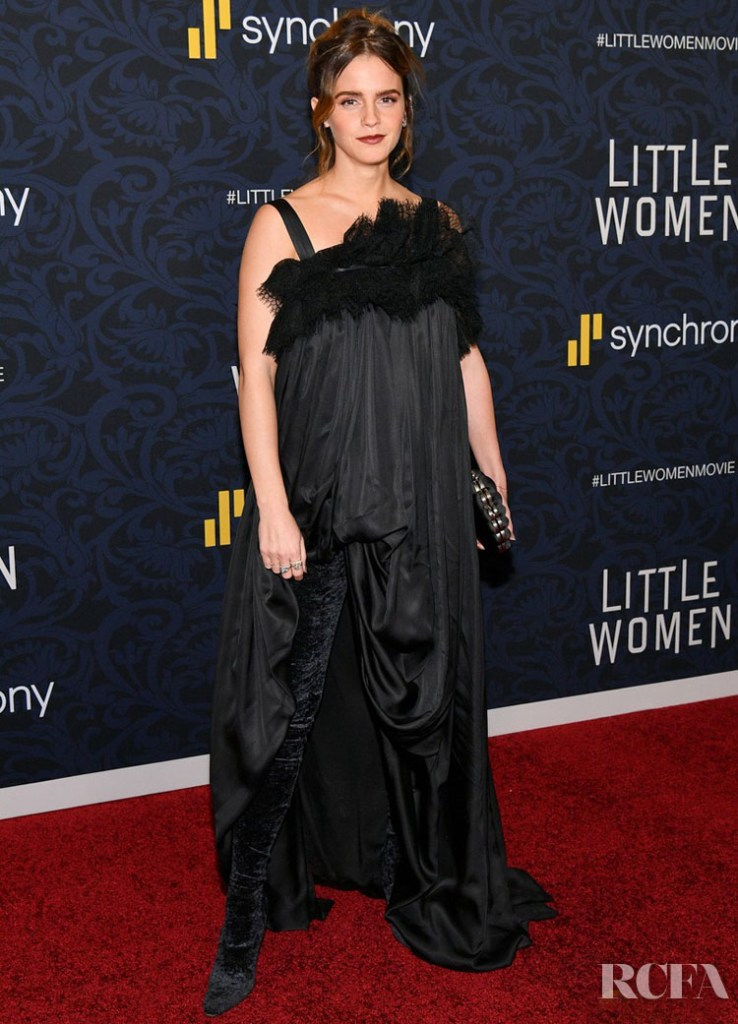 Emma Watson Wore Balenciaga To The 'Little Women' New York Premiere