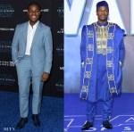 John Boyega Was Stylish In Blue For The 'Star Wars: The Rise of Skywalker' LA & London Premiere