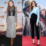 Karen Gillan Takes 'Jumanji: The Next Level' To Berlin