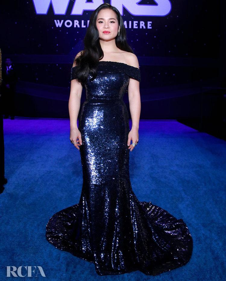 Kelly Marie Tran Wore Jason Wu To The 'Star Wars: The Rise Of Skywalker' LA Premiere