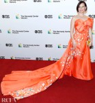 Lucy Liu's Tangy Floral Look For 42nd Annual Kennedy Center Honors