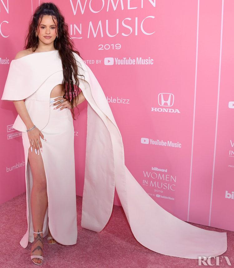 Rosalía Wore Antonio Grimaldi Couture To The 2019 Billboard Women In Music Event