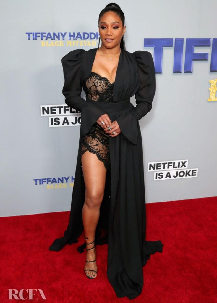 Tiffany Haddish's Black Mitzvah Sees Her Don A Jekyll & Hyde Dress