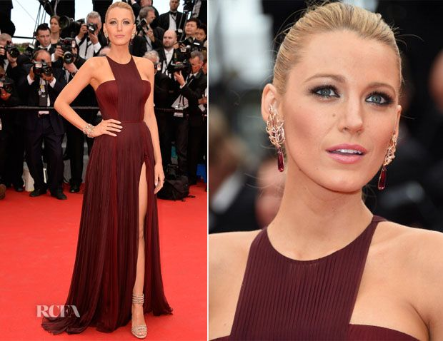 Blake Lively In Gucci Première – 'Grace of Monaco' Cannes Film Festival Premiere & Opening Ceremony