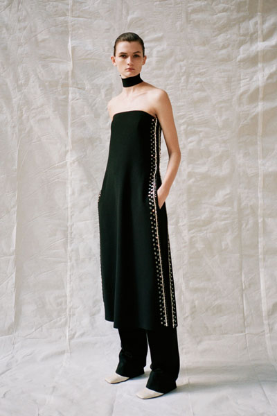 Greta Gerwig In Proenza Schouler - 2020 Golden Globe Awards