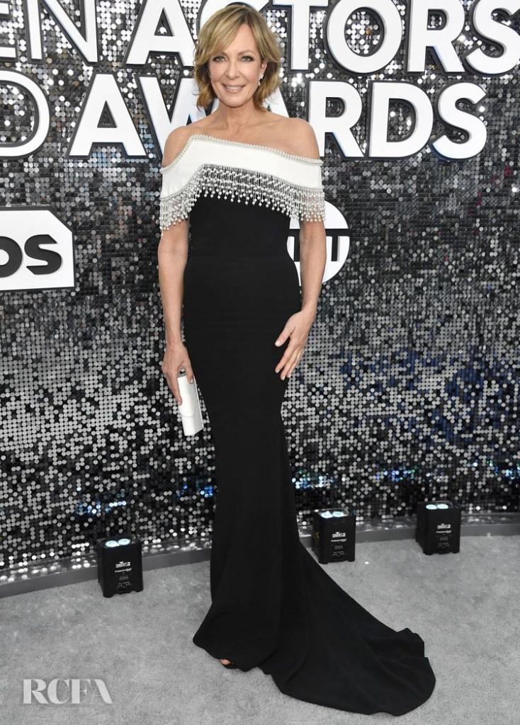 Allison Janney In Pamella Roland - 2020 SAG Awards