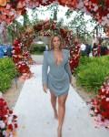 Beyonce's Pre-Grammys Style In Francesco Murano & Valdrin Sahiti