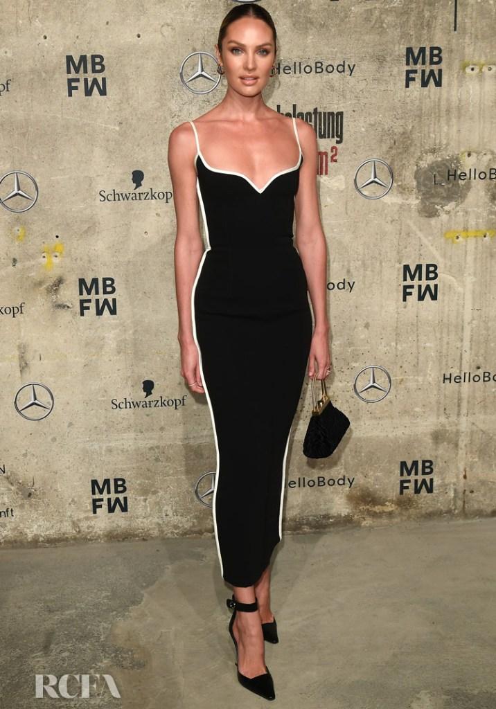 Candice Swanepoel Wore Paris Georgia To Berlin Fashion Week