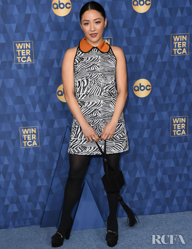Constance Wu Wore Missoni To The ABC All Star Party