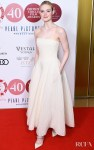 Elle Fanning Wore Ralph Lauren Collection To The London Critics' Circle Film Awards 2020