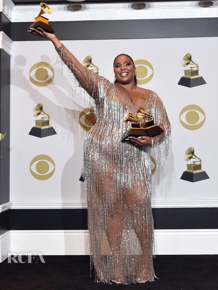 Lizzo In Atelier Versace - 2020 Grammy Awards