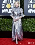 Lucy Boynton In Louis Vuitton - 2020 Golden Globe Awards