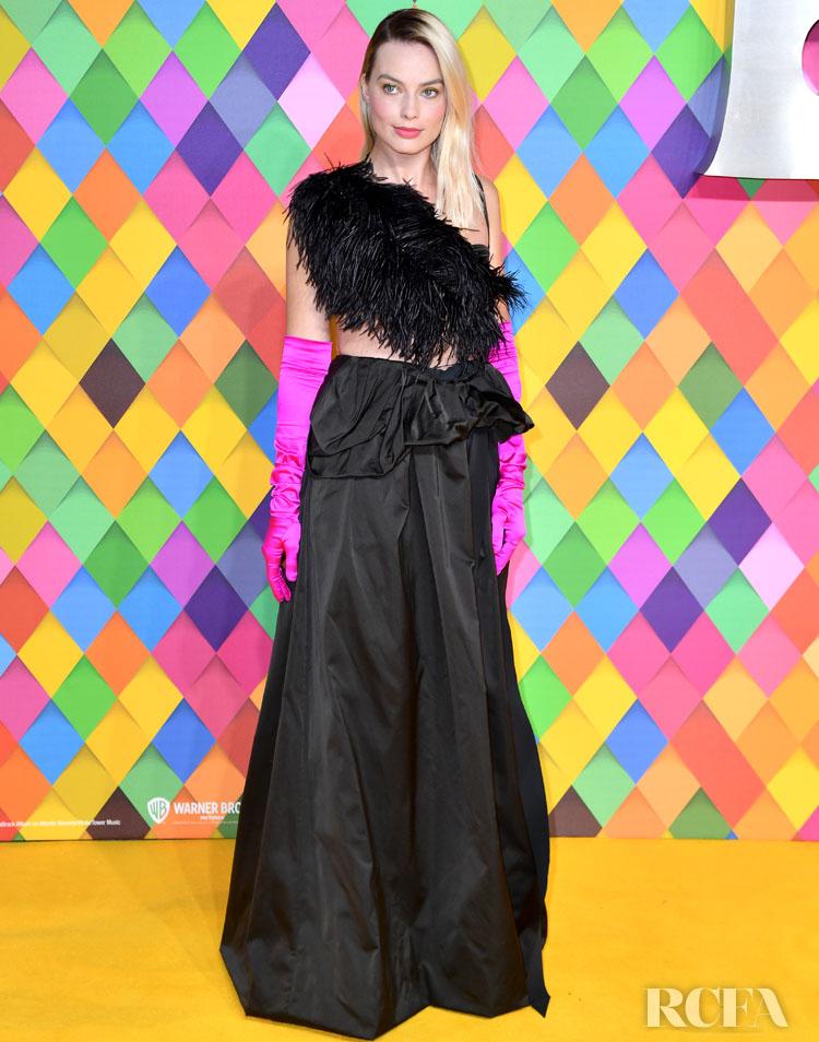 Margot Robbie Wore Dries van Noten To The 'Birds Of Prey' London Premiere