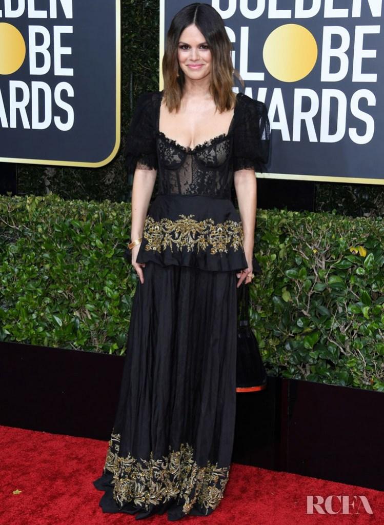 Rachel Bilson In Brock Collection - 2020 Golden Globe Awards