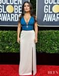 Salma Hayek In Gucci - 2020 Golden Globe Awards