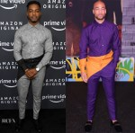 Stephan James & Kendrick Sampson Both Wore Grayscale To The Amazon Studios 2020 Winter TCA Press Tour & 'Bad Boys For Life' LA Premiere