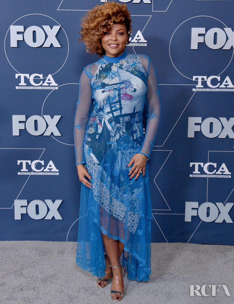 Taraji P. Henson Wore Preen To The FOX Winter TCA All Star Party