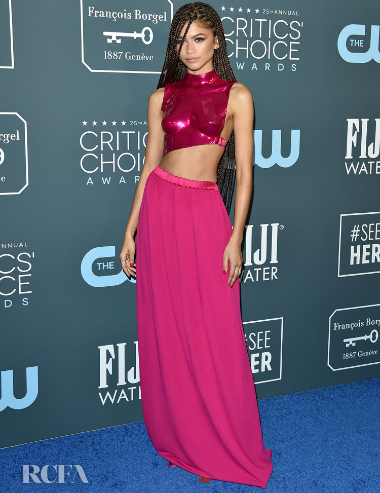 Zendaya In Tom Ford – 2020 Critics' Choice Awards