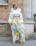 Alicia Keys Wore Rosie Assoulin On NRJ Radio