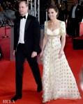 Catherine Duchess of Cambridge In Alexander McQueen - 2020 BAFTAs