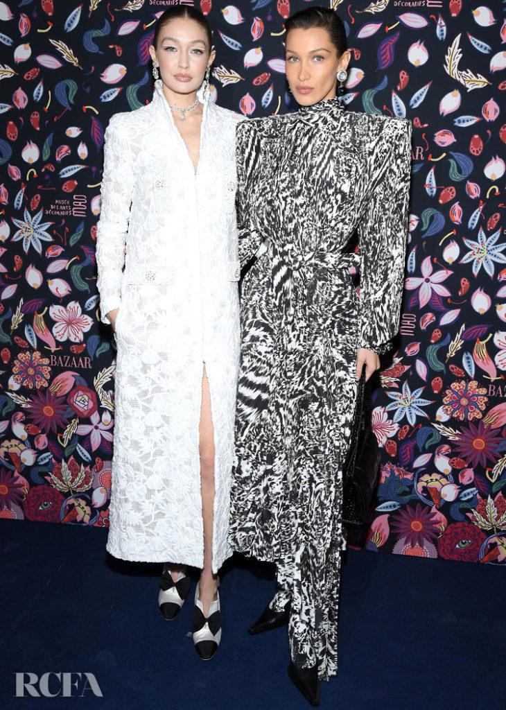 Gigi & Bella Hadid @ The Harper's Bazaar Exhibition