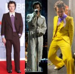 Harry Styles Rocks Three Looks For The BRIT Awards 2020