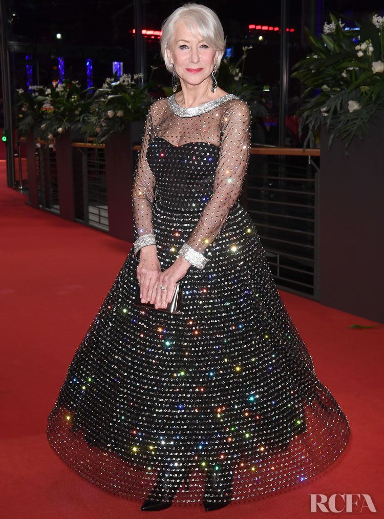 Helen Mirren Wore Dolce & Gabbana For The Honorary Golden Bear Award Ceremony
