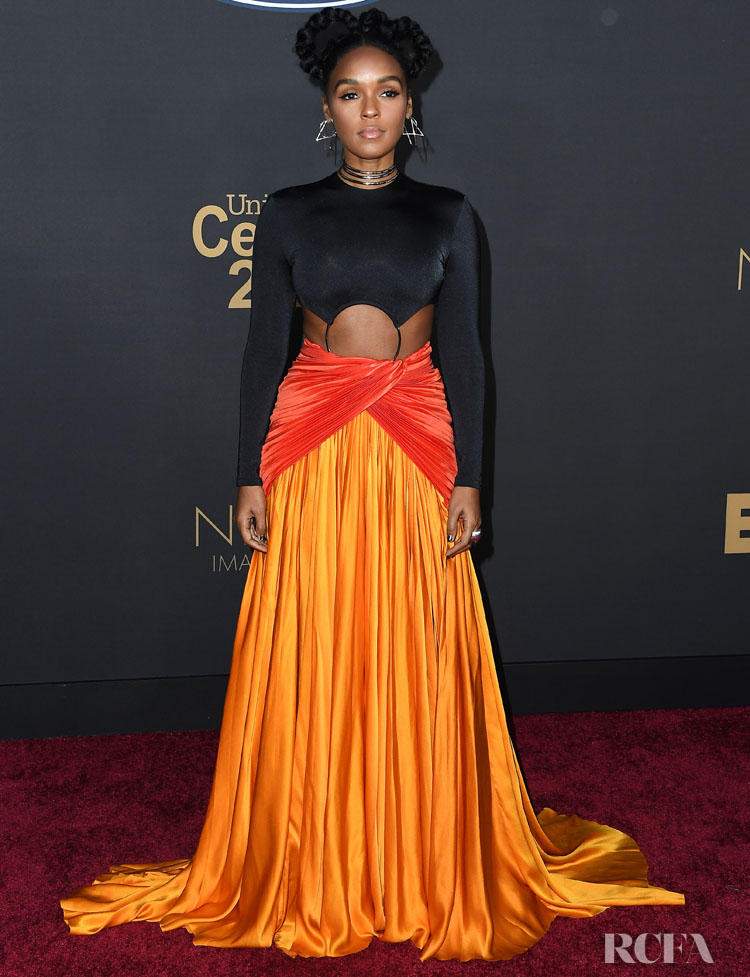 Janelle Monáe Wore Balmain To The 2020 NAACP Image Awards