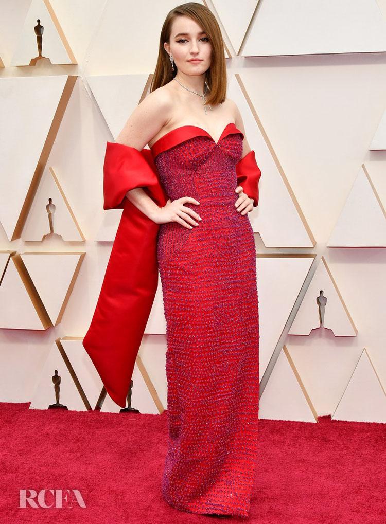 Kaitlyn Dever In Louis Vuitton - 2020 Oscars