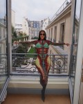 Kim Kardashian Wore Vintage Jean Paul Gaultier In Paris