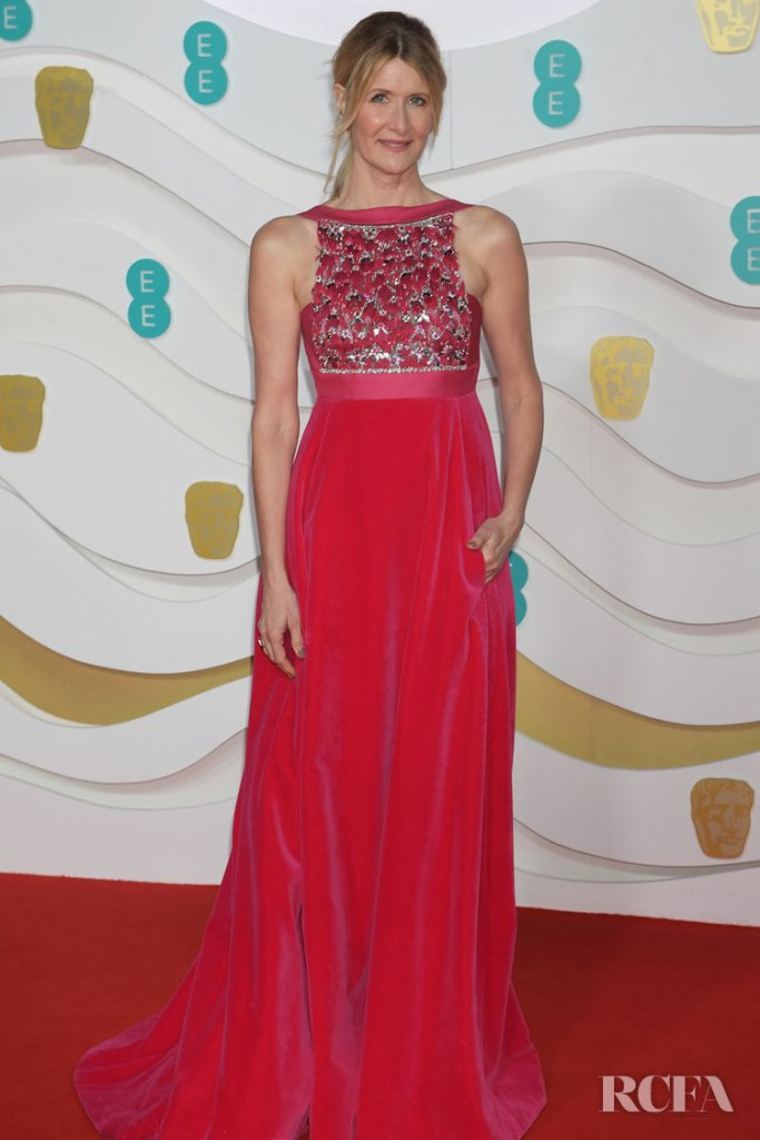 Laura Dern In Valentino Haute Couture - 2020 BAFTAs