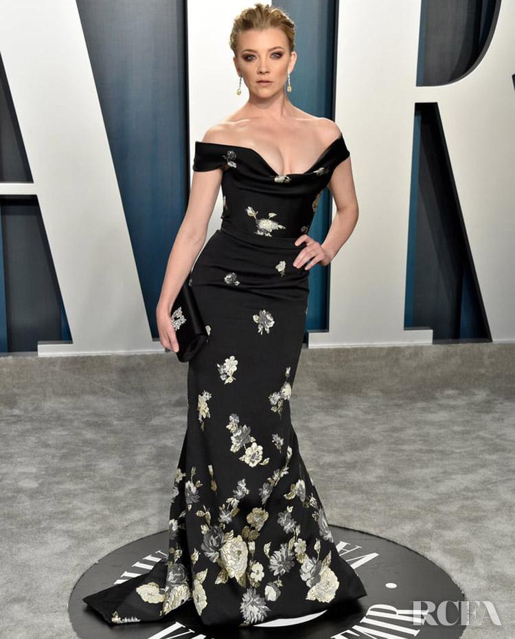 Natalie Dormer in Vivienne Westwood The 2020 Vanity Fair Oscar Party2